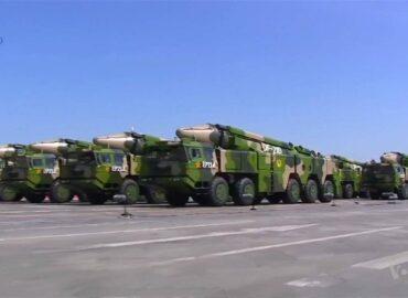Китай перехопив балістичну ракету середньої дальності