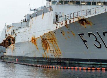 Вальхалла в очікуванні норвезького фрегата Helge Ingstad