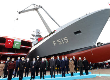 Туреччина побудувала свій перший фрегат