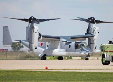 Японія отримала нову партію конвертопланів Osprey